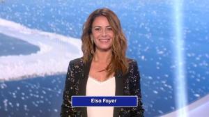 Elsa Fayer lors du Tirage du Loto - 02/01/19 - 01