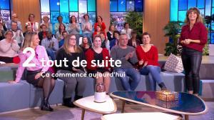 Faustine Bollaert et Florence Escaravage dans Ça Commence Aujourd'hui - 10/06/19 - 02
