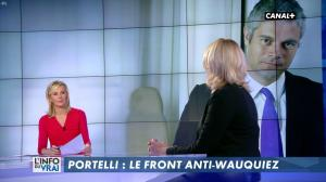 Laurence Ferrari et Florence Portelli dans l'Info du Vrai - 09/03/18 - 02