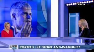 Laurence Ferrari et Florence Portelli dans l'Info du Vrai - 09/03/18 - 04