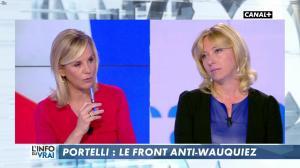 Laurence Ferrari et Florence Portelli dans l'Info du Vrai - 09/03/18 - 05