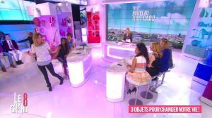 Laurence Ferrari, Hapsatou Sy et Caroline Ithurbide dans le Grand 8 - 31/03/16 - 02