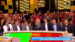 Laurence Ferrari dans Touche pas à mon Poste - 26/11/18 - 10