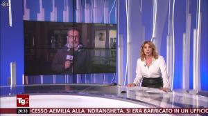 Manuela Moreno dans Il Tg 2 - 05/11/18 - 01