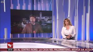 Manuela Moreno dans Il Tg 2 - 05/11/18 - 02