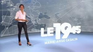 Marie Ange Casalta dans le 19-45 - 12/08/18 - 01