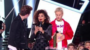Nawell Madani dans les NRJ Music Awards - 04/11/17 - 02