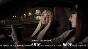 Nicki Minaj dans une Publicité pour Mercedes - 30/04/18 - 02
