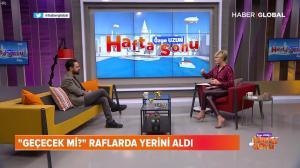 Ozge Uzun dans Ozge Uzun Ile Hafta Sonu - 26/01/19 - 05