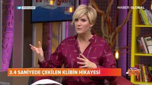 Ozge Uzun dans Ozge Uzun Ile Hafta Sonu - 26/01/19 - 14
