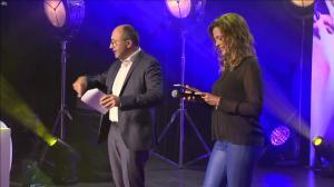 Sandrine Quétier dans Ceremonie des Victoires de la Beaute - 26/09/18 - 06