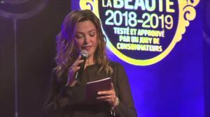 Sandrine Quétier dans Ceremonie des Victoires de la Beaute - 26/09/18 - 23