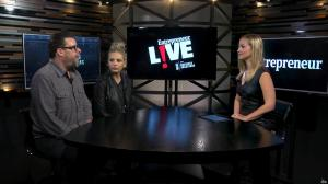 Sarah Michelle Gellar et Ashley Wehrley dans Entrepreneur Live - 15/11/17 - 06