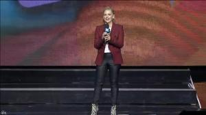 Sarah Michelle Gellar dans WE Day 1 - 26/09/18 - 02