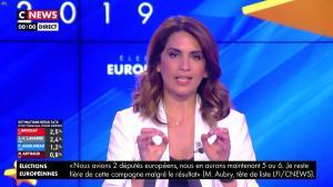 Sonia Mabrouk lors de la Soirée des Elections Européennes - 26/05/19 - 04