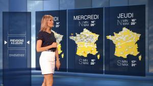 Stéphanie Duval dans la Meteo du Soir - 25/07/19 - 04