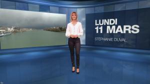 Stéphanie Duval à la Météo - 11/03/19 - 01