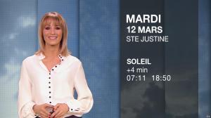 Stéphanie Duval à la Météo - 11/03/19 - 04