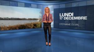 Stéphanie Duval à la Météo du Soir - 17/12/18 - 01