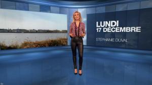 Stéphanie Duval à la Météo du Soir - 17/12/18 - 02