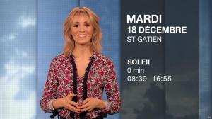 Stéphanie Duval à la Météo du Soir - 17/12/18 - 06
