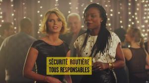 Sylvie Tellier et Kareen Guiock dans un Spot pour la Sécurité Routière - 23/12/18 - 04
