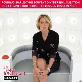Sylvie Tellier dans la Boite à Questions - 12/12/18 - 02