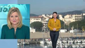 Virginie Hilssone à la Météo de BFM TV - 03/01/19 - 01