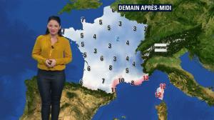 Virginie Hilssone à la Météo de BFM TV - 03/01/19 - 02