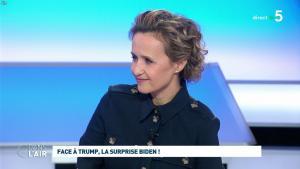 Caroline Roux dans C dans l'Air - 04/03/20 - 06