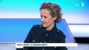 Caroline Roux dans C dans l'Air - 04/03/20 - 12