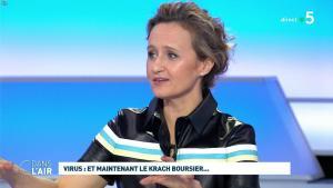 Caroline Roux dans C dans l'Air - 09/03/20 - 04