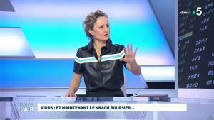 Caroline Roux dans C dans l'Air - 09/03/20 - 10