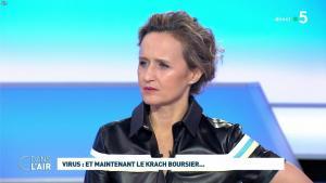 Caroline Roux dans C dans l'Air - 09/03/20 - 18
