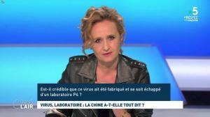 Caroline Roux dans C dans l'Air - 21/04/20 - 03