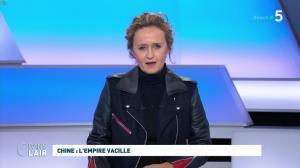 Caroline Roux dans C dans l'Air - 29/01/20 - 01