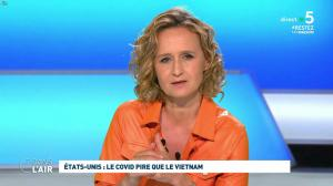 Caroline Roux dans C dans l'Air - 30/04/20 - 01