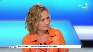 Caroline Roux dans C dans l'Air - 30/04/20 - 02