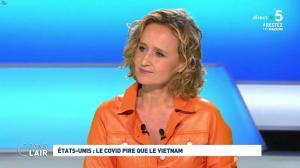 Caroline Roux dans C dans l'Air - 30/04/20 - 03