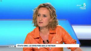 Caroline Roux dans C dans l'Air - 30/04/20 - 04