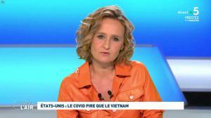 Caroline Roux dans C dans l'Air - 30/04/20 - 05