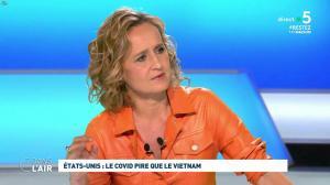 Caroline Roux dans C dans l'Air - 30/04/20 - 06