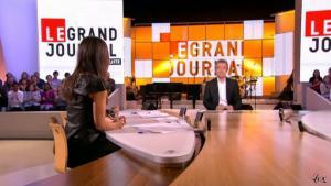 Elise Chassaing dans le Grand Journal De Canal Plus - 19/03/10 - 2