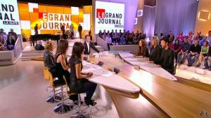 Elise Chassaing dans le Grand Journal De Canal Plus - 19/03/10 - 5