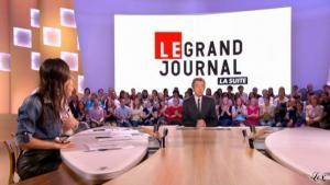 Elise Chassaing dans le Grand Journal De Canal Plus - 28/04/10 - 2