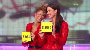 Les Gafettes, Fanny Veyrac et Doris Rouesne dans le Juste Prix - 22/02/11 - 1