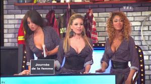 Les Gafettes, Fanny Veyrac, Nadia Aydanne et Doris Rouesne dans le Juste Prix - 09/03/11 - 2