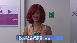 Rihanna dans le Grand Journal De Canal Plus - 10/11/10 - 1