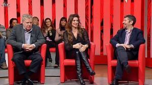 Alba Parietti dans Il Fatto Del Giorno - 08/01/10 - 04