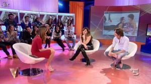 Alba Parietti et Silvia Toffanin dans Verissimo - 15/01/11 - 03